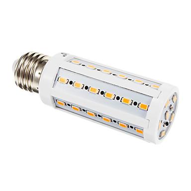 E26/E27 LED Corn Lights 42 leds SMD 5630 Warm White 900lm 3000K AC 220-240V