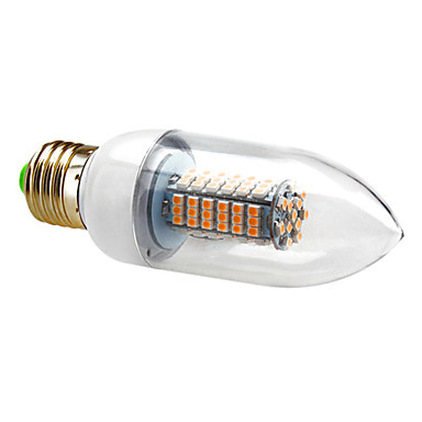7W E26/E27 Ampoules Bougies LED C35 120 SMD 3528 630 lm Blanc Chaud / Blanc Froid AC 100-240 V