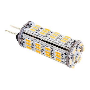 YWXLIGHT® 339 lm G4 LED Mais-Birnen T 57 Leds SMD 3014 Warmes Weiß Wechselstrom 12V DC 12V