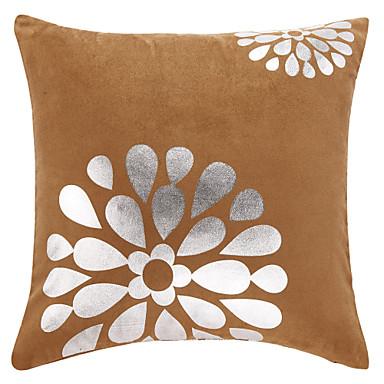 Casual Květiny Polyester Dekorativní Polštář Cover