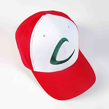 Hat/Cap Inspired by Pocket Little Monster Ash Ketchum Anime Cosplay Accessories Hat Cap Cotton Men's Women's