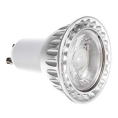 6W GU10 LED Spotlight 1 COB 250-300 lm Warm White 3000 K Dimmable AC 220-240 V 1pc