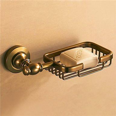Soap Dishes & Holders Antique Aluminum / Ceramic 1 pc - Hotel bath