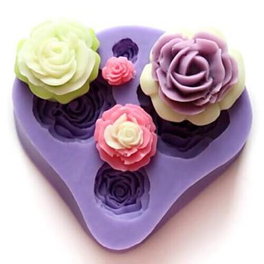 Backform Blume Chocolate Obstkuchen Kuchen Silikon Heimwerken Valentinstag Gute Qualität