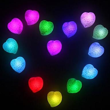 LED Night Light Vandtæt Batteri PVC 1 Lampe Batterier Inkluderet 6.0*6.5*2.0cm