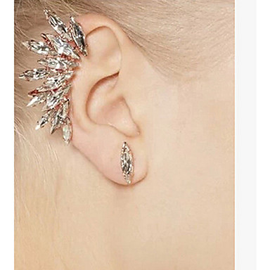 Ear Cuffs Luxury Personalized Rhinestone Imitation Diamond Alloy Jewelry For Party Daily Casual