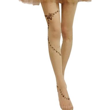 Socks / Long Stockings Classic Lolita Dress Lolita Lolita Women's Lolita Accessories Print Stockings Polyester / High Elasticity
