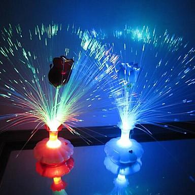 LED Night Light Waterbestendig Batterij Acryl 1 Lamp Exclusief batterijen 11.0*11.0*34.0cm