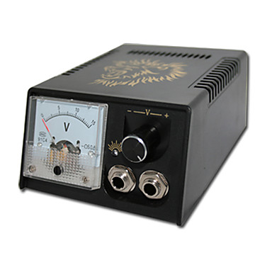 Plastic Pointer Tattoo Power Supply with Lion Pattern