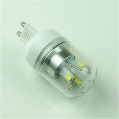 G9 LED Corn Lights T 10 SMD 5730 400lm Cold White 6000-6500K Decorative AC 85-265V