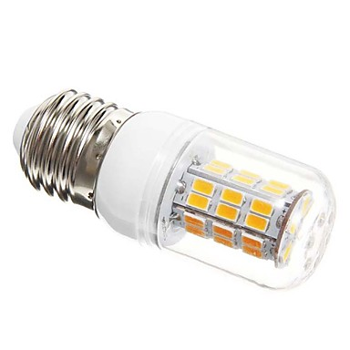 SENCART 1200lm E26 / E27 LED Mais-Birnen T 42 LED-Perlen SMD 5730 Warmes Weiß 100-240V