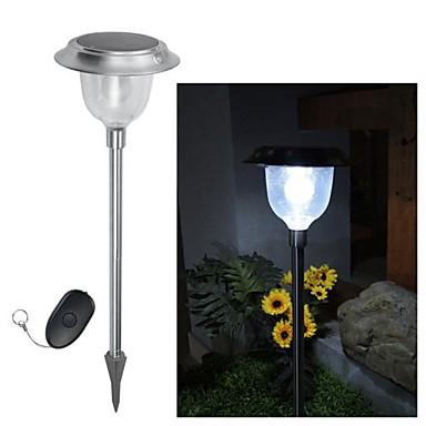 billige Utendørsbelysning-5-LED Fjernkontroll Solar fargeendringen Lawn Lett Pathway Hage Lampe