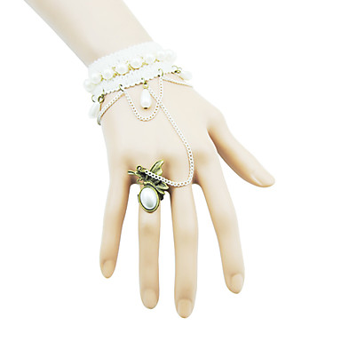 Ball Fashion Design Barcelet With Rings-2014-201-LSL055