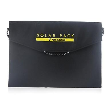 USB-udgang 7w foldbar bærbare sol ekstern batterioplader