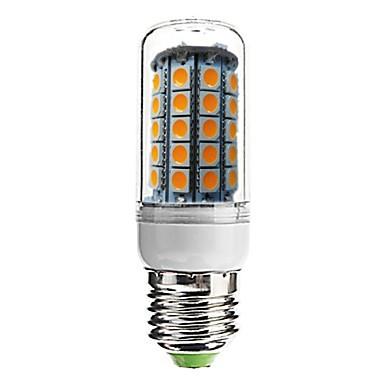 7W E26/E27 Becuri LED Corn T 59 SMD 5050 700 lm Alb Cald Decorativ AC 220-240 V