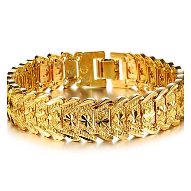 billige Motearmbånd-Dame Mansjettarmbånd Armbånd damer Stilfull Dubai Gullbelagt Armbånd Smykker Til Bryllup Fest Hverdag Daglig Avslappet