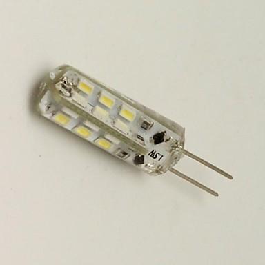 G4 LED лампы типа Корн 24 светодиоды SMD 3014 Декоративная Тёплый белый Холодный белый 80lm 3000K DC 12V