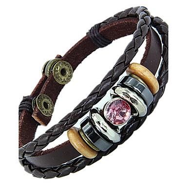 Damen Lederarmbänder - Leder Modisch Armbänder Blau / Rosa Für Weihnachts Geschenke Alltag Normal