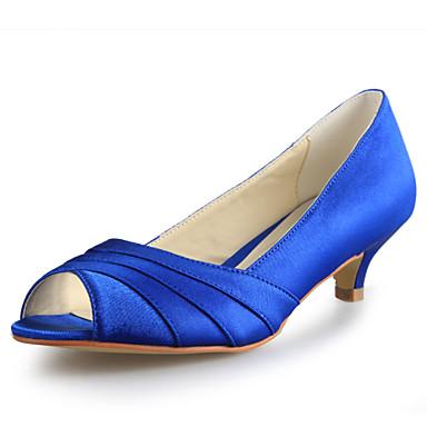 Doré 01864752 Satin Mariage Kitten pour Bleu Heel Beige Eté Violet Automne Printemps Argenté Hiver Chaussures Femme ZxYB5qzn7w