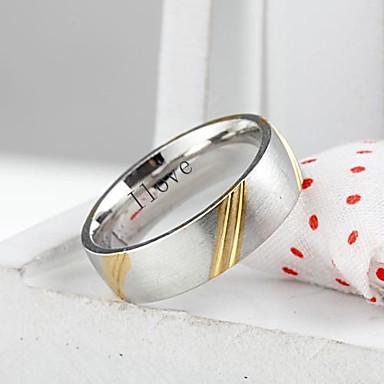 cadou personalizat de bijuterii din otel inoxidabil la modă inscripționat lățime bărbați 0.6cm inel