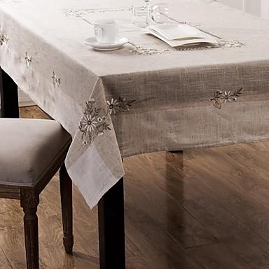 tafelkleden klassieke borduurwerk tafelkleed 135 * 175cm
