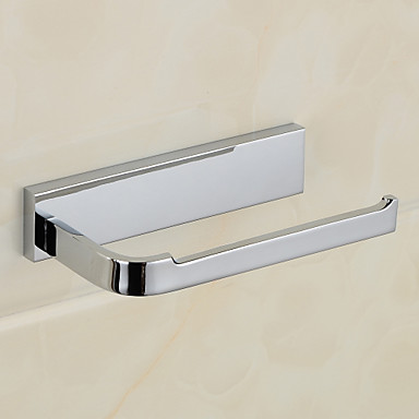 Toilet Paper Holder,Contemporary Chrome Wall Mounted