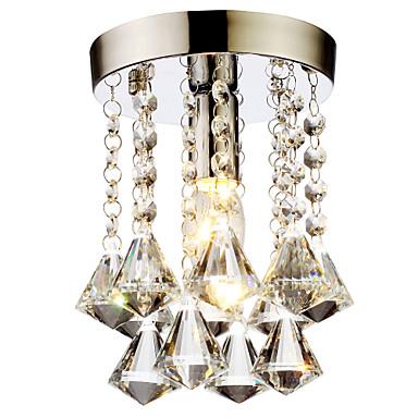 LightMyself™ Unterputz Raumbeleuchtung Chrom Kristall Kristall, Ministil 110-120V / 220-240V Glühbirne nicht inklusive / E12 / E14