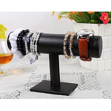 Flower Jewelry Displays - Leather Fashion Black 5 cm / Women's