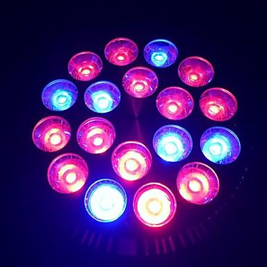 E27 18W 1080-1440lm 12red și lumina 6blue dus la fața locului a plantelor bec cresc de lumină (85-265V)