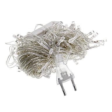 10 m 100 leds halloween dekorative lichter festliche streifen lichter-gewöhnliche string lichter grün (220 v)