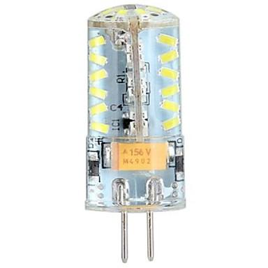 YWXLIGHT® 3W 250 lm G4 LED Doppel-Pin Leuchten LED Mais-Birnen T 57 Leds SMD 3014 Kühles Weiß DC 24V AC 24 V Wechselstrom 12V DC 12V