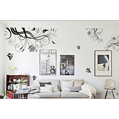 Zooyoo removable beautiful abstract picture wall sticker - Beautiful wall stickers for living room ...