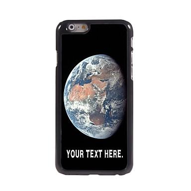 персонализированные случае дело земля металлическая конструкция для Iphone 6 плюс