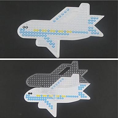 Fuse beads Speeltjes 5 mm sjabloon Vliegtuig Muovi Stuks Geschenk