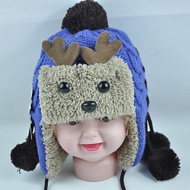 módní krásné teplé nové karikatury parohy dětské klků klapky na uši čepice 2b2721532b