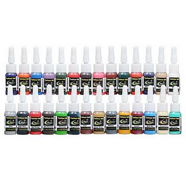 Dragonhawk® Tattoo Supply Ink Pigment Complete set 28 Color 5ml