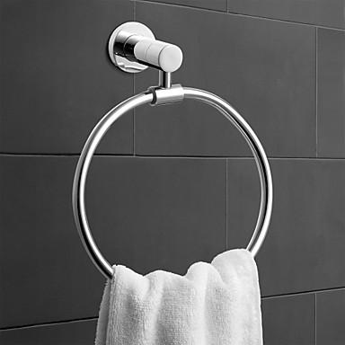 Havlu Çubuğu Çağdaş Pirinç 1pc - Banyo / Otel banyo havlu halkası Duvara Monte Edilmiş