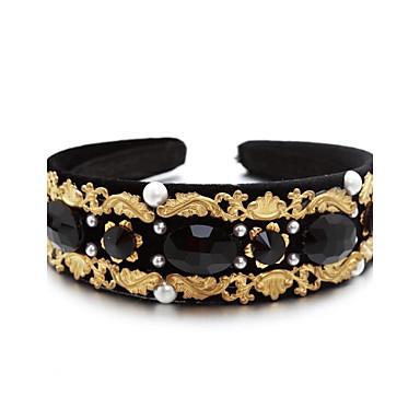 Künstliche Perle Kubikzirkonia Baumwollflanell Aleación Stirnbänder 1 Hochzeit Besondere Anlässe Draussen Kopfschmuck