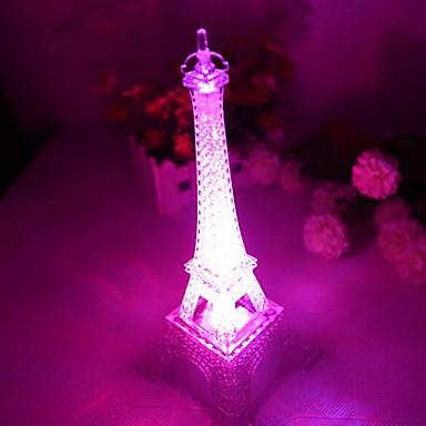 LED-uri de lumină de noapte Rezistent la apă Baterie PVC 1 Lumină Baterii Incluse 10.0*10.0*15.0cm