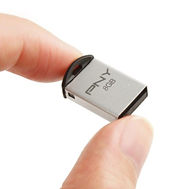 mini flash drive USB 2.0 8GB PNY m2