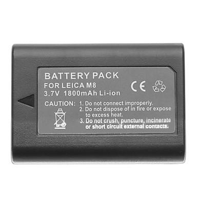 3.7V 1800mAh litiu Mini DV batttery pentru Leica M8
