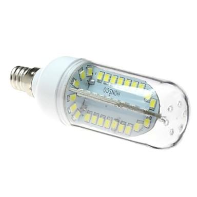 E12 LED лампы типа Корн T 84 SMD 2835 500 lm Холодный белый AC 85-265 V