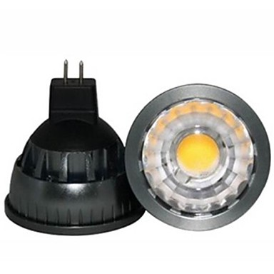 GU5.3(MR16) LED Spotlight A60(A19) COB 500lm Warm White 2800-3000K Dimmable Decorative DC 12V