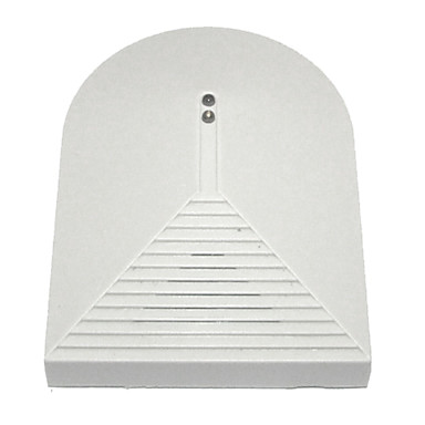 Wireless Glass Break Security Sound Detector White Security Sensor