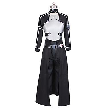 Inspiriert von Cosplay Cosplay Anime Cosplay Kostüme Cosplay Kostüme Patchwork Mantel Hosen Handschuhe Gürtel Taille Accessoire Mehre