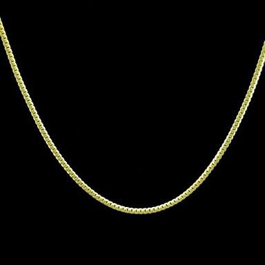 Herrn Ketten - Golden Modische Halsketten Für Hochzeit, Party, Alltag