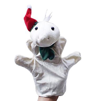 2 buc Crăciun broască țestoasă și iepure de mână părinte-copil&marionete pentru copii vorbesc propunerii