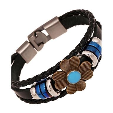 Damen Leder Lederarmbänder Strang-Armbänder - Armbänder Für Alltag Normal