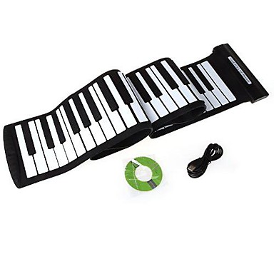 88 keys professional flexible usb roll up electronic piano keyboard kb 01 2138940 2019. Black Bedroom Furniture Sets. Home Design Ideas