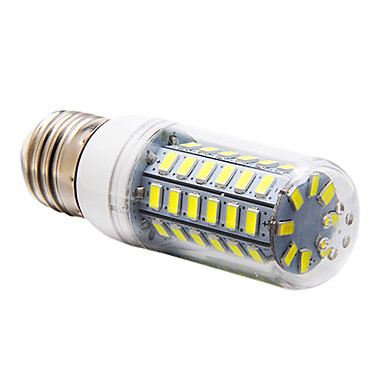 5W 450 lm E14 G9 E26/E27 LED Mısır Işıklar 56 led SMD 5730 Sıcak Beyaz Serin Beyaz AC 220-240V